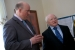 Tiglin Chairman Aubrey McCarthy with President Michael D. Higgins